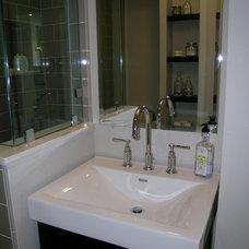 Contemporary Bathroom by May Construction, Inc.
