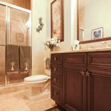 Beach Style Bathroom by Progressive Builders, Inc.