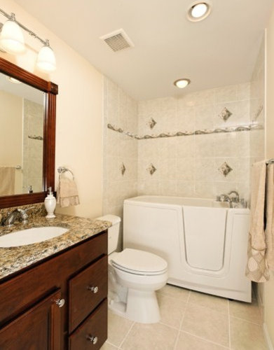 Houzz mother in law suite bathroom design ideas for Bathroom ideas 5x12