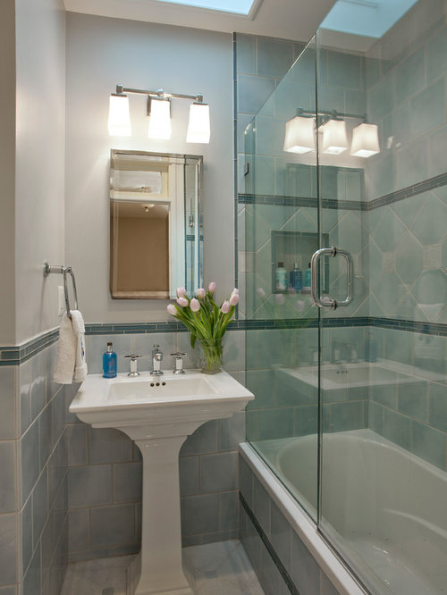 Traditional Small Spaces Bathroom Home Design Photos