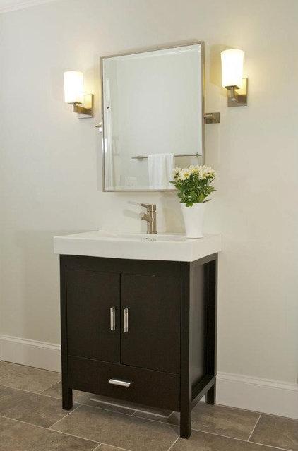 Contemporary Bathroom by Instinctive Design