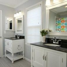 Traditional Bathroom by Instinctive Design