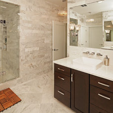 Contemporary Bathroom by S&W Kitchens