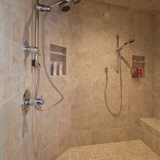 Traditional Bathroom by Renovations by Garman LLC