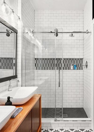 Contemporary Bathroom by Devon Grace Interiors