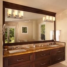 Contemporary Bathroom by Timeline Design