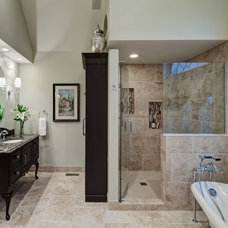 Traditional Bathroom by Insignia Kitchen and Bath Design Studio