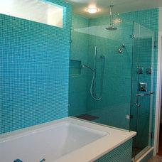 Modern Bathroom by Merzbau Design Collective