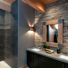 Contemporary Bathroom by Leanna Rathkelly Photography