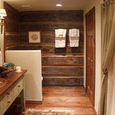 Traditional Bathroom by Legends West Reclaimed Lumber