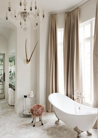Cute Shabby chic Style Bathroom by Thompson Custom Homes