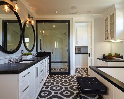 Foto e Idee per Stanze da Bagno - stanza da bagno con doccia ad ...