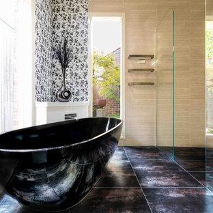 Bathroom - contemporary bathroom idea in Melbourne