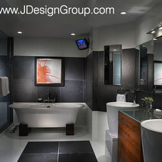 Modern Bathroom by J Design Group - Interior Designers Miami - Modern