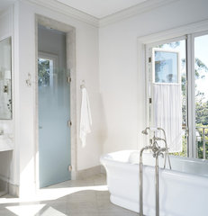 traditional bathroom by Studio William Hefner