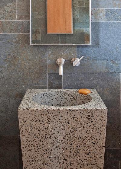 Contemporary Bathroom by WA Design Architects