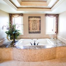 Mediterranean Bathroom by Jackie Vella Design