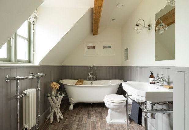 Country Bathroom by Border Oak Ltd