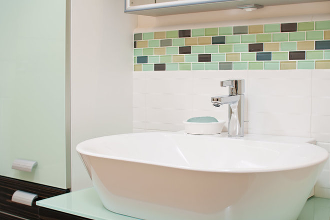 mint green bathroom decorating colors