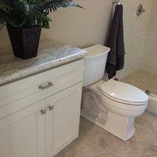 Traditional Bathroom by Stewart Design