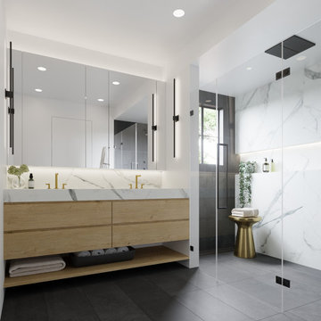 Willow House - Master Bath