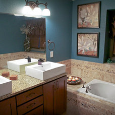 Contemporary Bathroom by Twisted Oak Homes