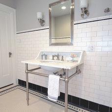 Traditional Bathroom by JK Design