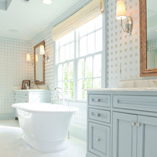 Traditional Bathroom by Toulmin Cabinetry and Design