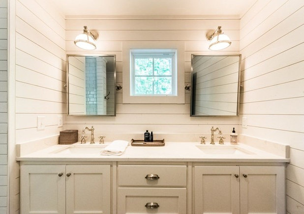 Farmhouse Bathroom by Holland Homes LLC