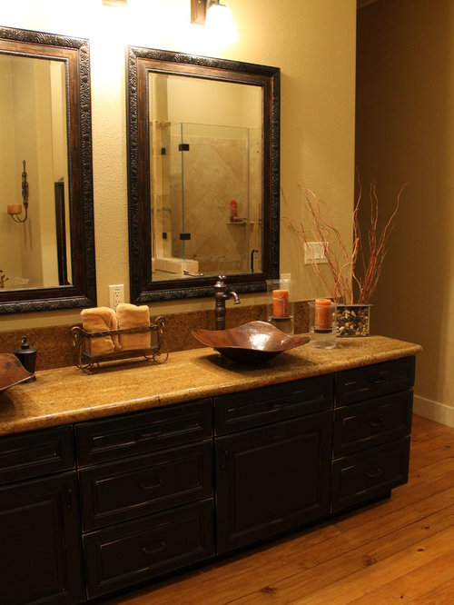 Distressed Black Cabinets Home Design Ideas Pictures