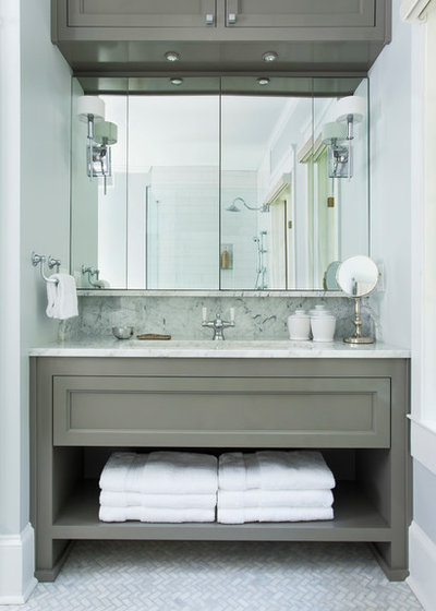 Bathroom Workbook: The Right Height For Your Sinks, Mirrors And More
