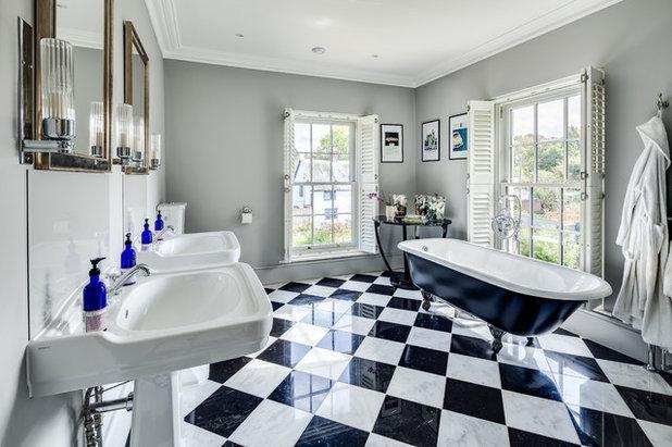 American Traditional Bathroom by Mumford & Wood