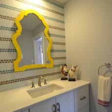 Contemporary Bathroom by colorTHEORY Boston