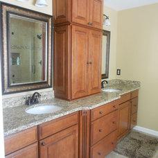 Traditional Bathroom by David L. Scott / Lowe's Design Center