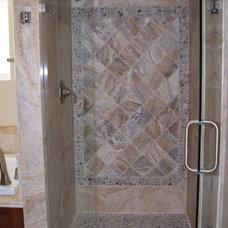 Mediterranean Bathroom by Nau Builders, Inc.