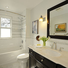 Contemporary Bathroom by Pure Bliss Creative Design