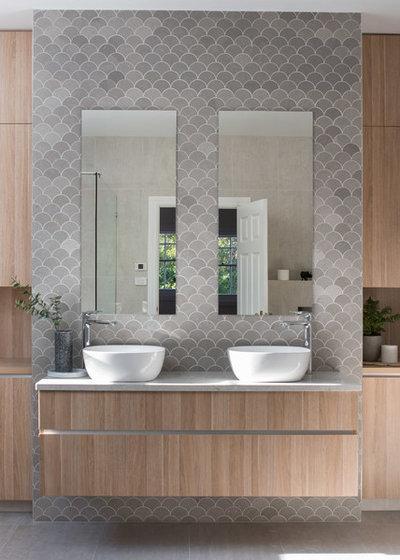 Modern Bathroom by Lydia Maskiell Interiors