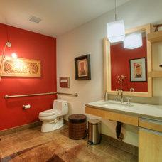 Modern Bathroom by RGN Construction