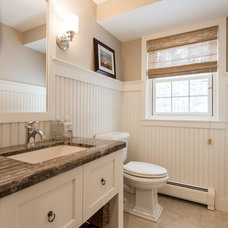 Traditional Bathroom by New England Design Elements