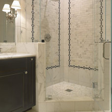 Traditional Bathroom by SDG Architecture, Inc.