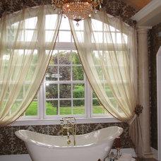 Traditional Bathroom by Jere Bradwell