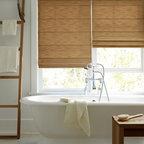 WINDOWS | Hunter Douglas - Hunter Douglas Design Studio Roman Shades with Cordlock