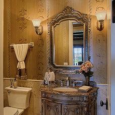 Traditional Bathroom by Rare Additions Interior Design, Inc.