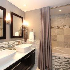 Contemporary Bathroom by Tricia Sartor Designs