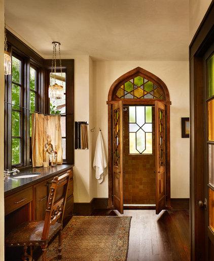 Mediterranean Bathroom by Clayton&Little Architects