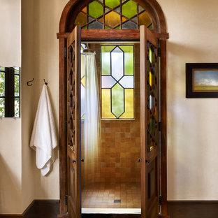Ornate alcove shower photo in Austin