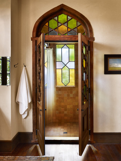 Rain Glass Shower Door Houzz