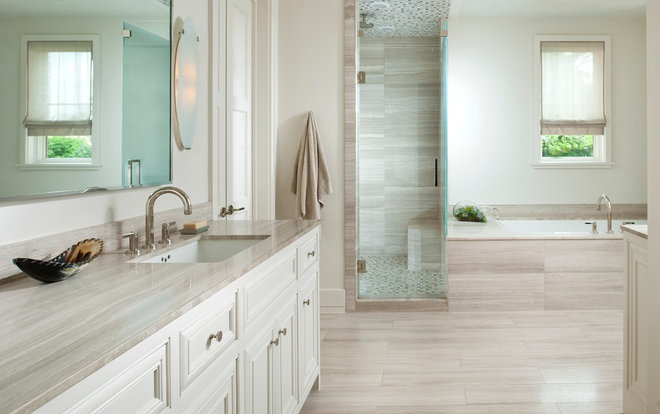 Traditional Bathroom by TATUM BROWN CUSTOM HOMES