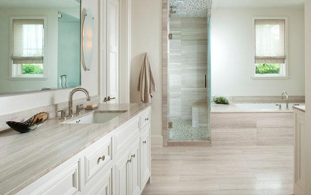 New Traditional Bathroom by TATUM BROWN CUSTOM HOMES