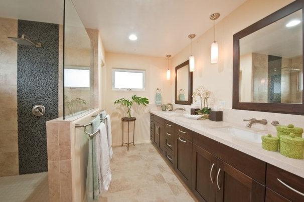 Contemporary Bathroom by Archipelago Hawaii Luxury Home Designs